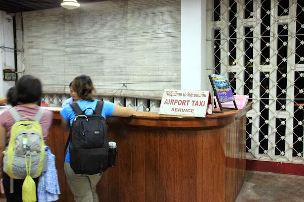 Taxi Wattay Aeroporto di Vientiane - Laos