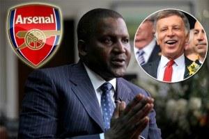 Dangote Starts Arsenal Takeover Talks With Stan Kroenke?
