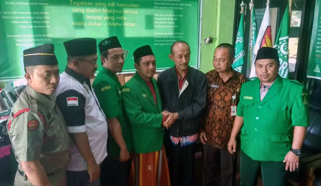 Mirwan mendatangi Kantor GP Ansor