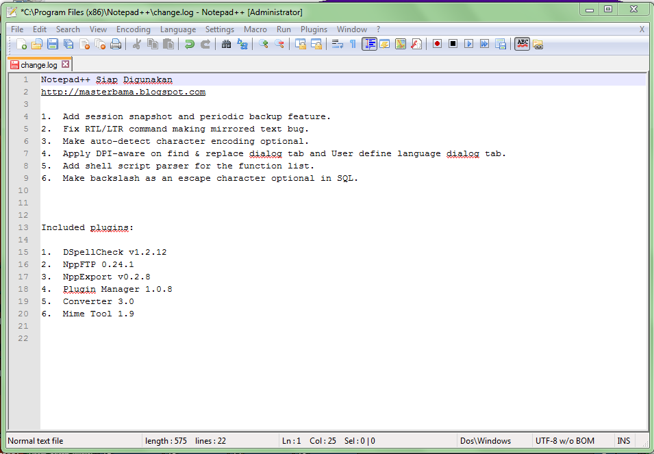 Notepad++ Free Download Latest Version