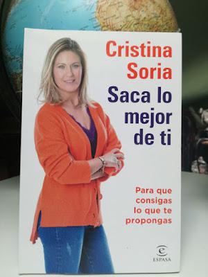 Libro de Cristina Soria Saca lo mejor de ti
