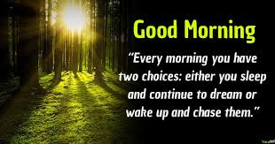 Good Morning Short Quotes