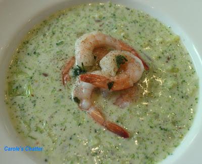 Carole's Chatter: Prawn & Broccoli Soup