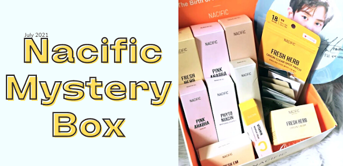 What's Inside My Nacific Cosmetics Mystery Box?