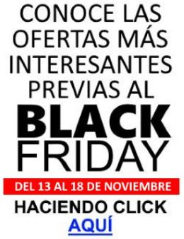 Promociones Black Friday