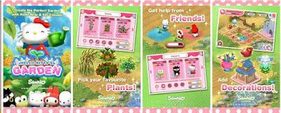 Game Kebun Hello Kitty