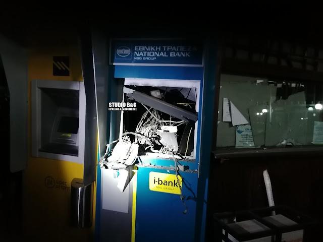Αργολίδα: Συνεχίζονται οι έρευνες της αστυνομίας για την έκρηξη του ΑΤΜ στην Παλαιά Επίδαυρο