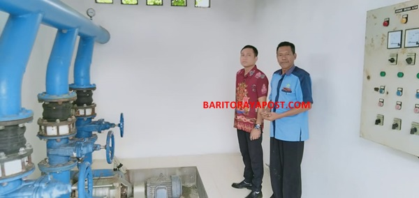 PDAM Barsel Menunggu Water Treatment Plaint, Baru Buka Kembali Pemasangan Baru