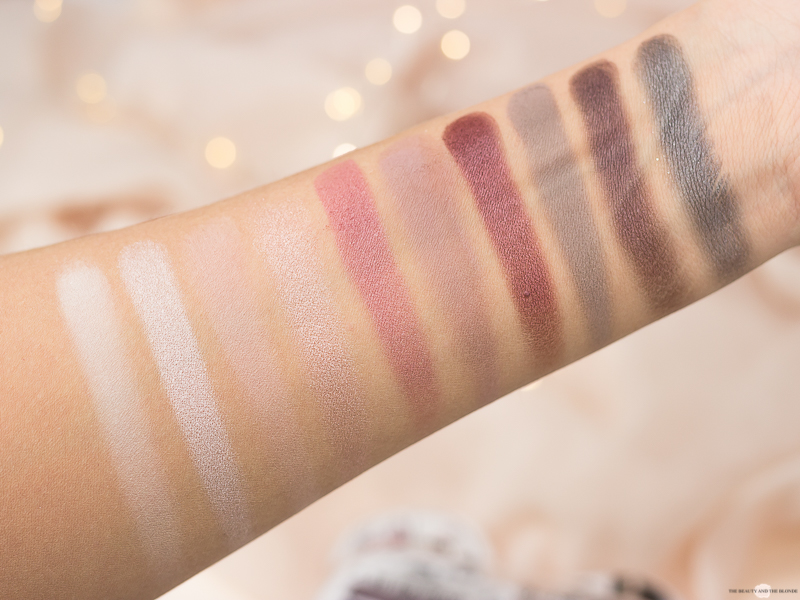essence lidschatten paletten update sortimentsumstellung 2018 drogerie eyeshadow boxes in love with rose Swatches