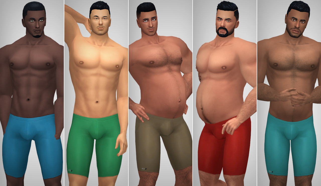 how to get body hair on sims 4