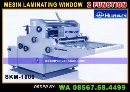 Mesin Laminating Waterbase WINDOW