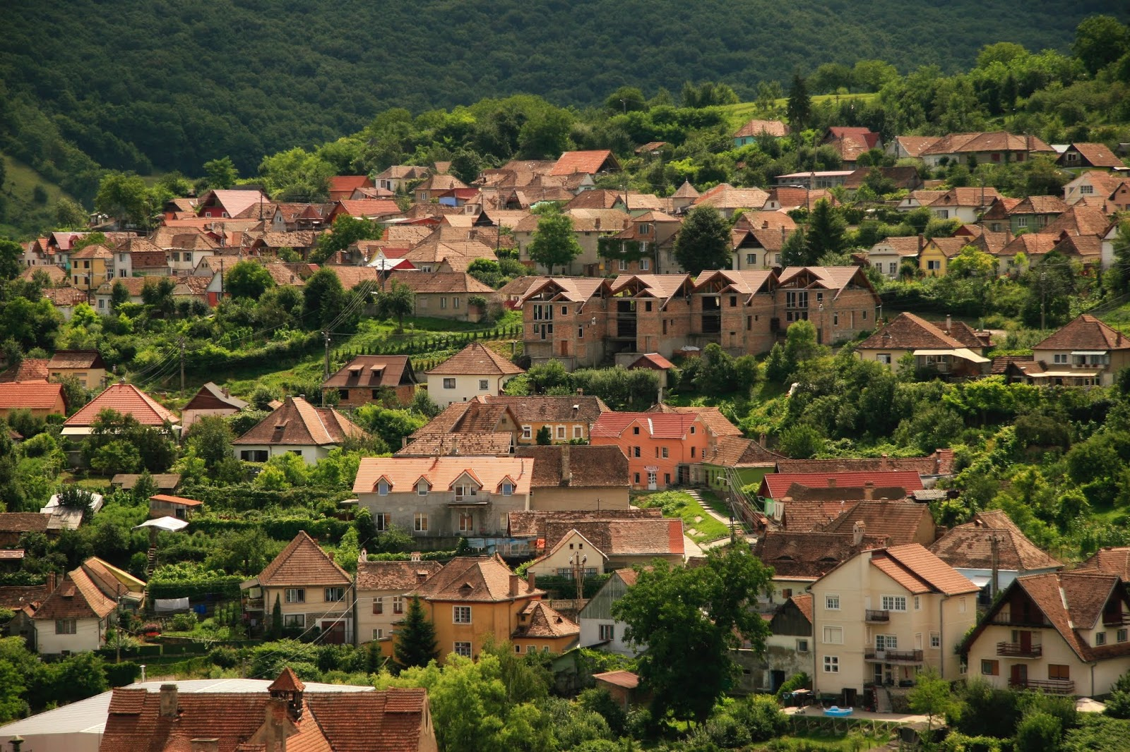 city ​​and village life wallpaper full hd -backgrounds pic