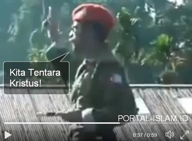 """OPM Menyebut Mereka Adalah """"Tentara Kristus"""", Tapi Tak Disebut """"TERORIS"""", Karena Tak Ada Takbir?"""