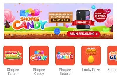 Update Game Shopee Candy Level 156 - 160 Terbaru