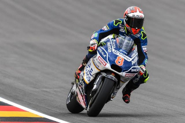 Barbera Sukses Ungguli Marquez dan Pedrosa Di FP2 MotoGP Jerman
