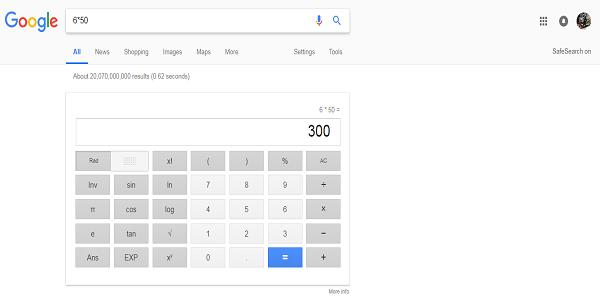 Memanfaatkan Kalkulator di Google Pencarian