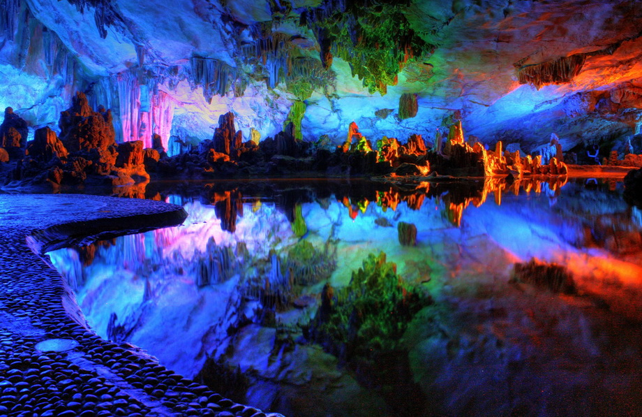 Magnificent colorful cave nature 39 s wallpapers - Colorful nature pics ...