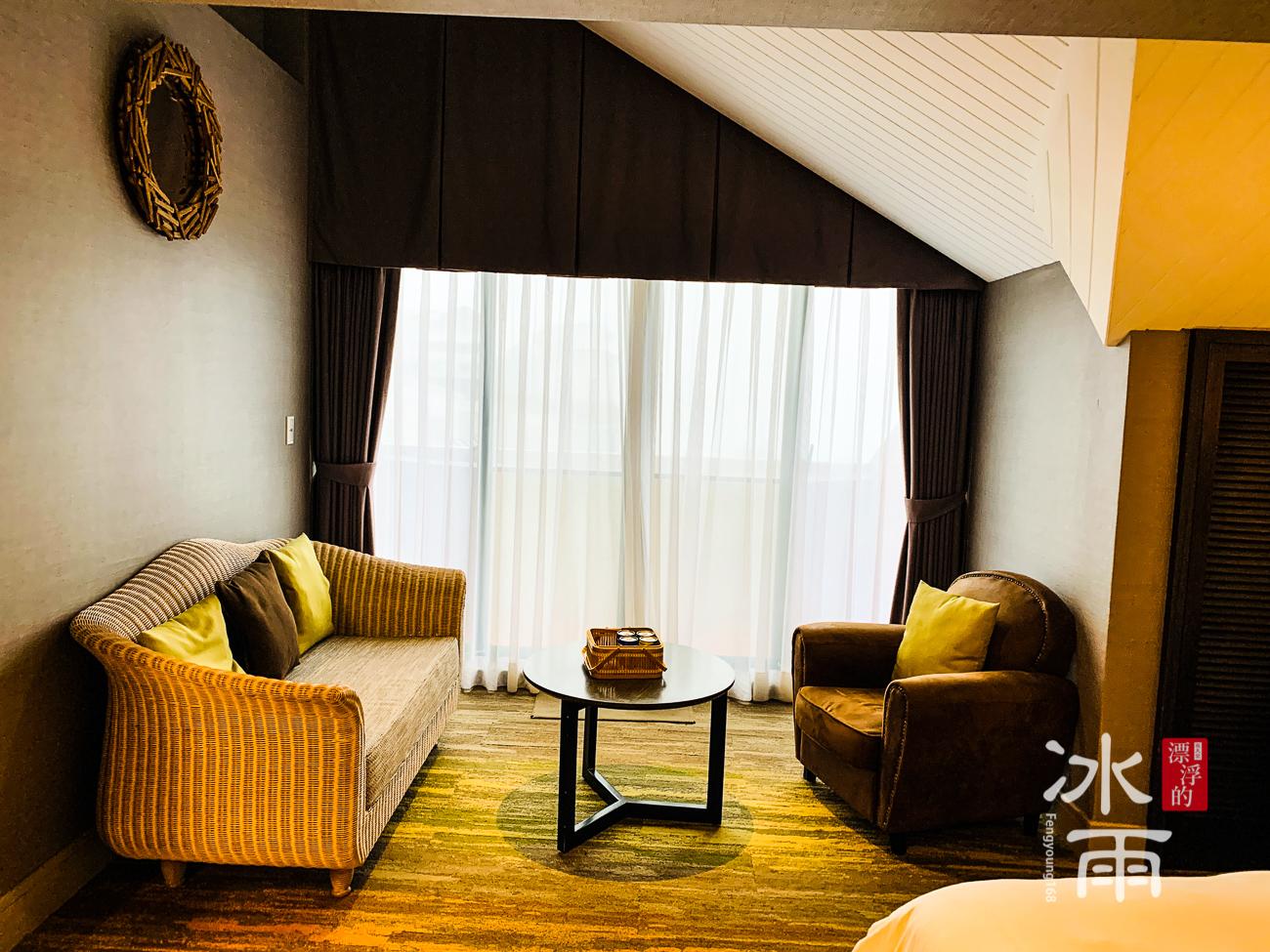 陽明山天籟渡假酒店|房間角落