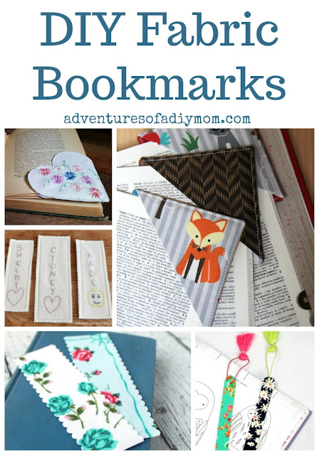 DIY Fabric Bookmarks
