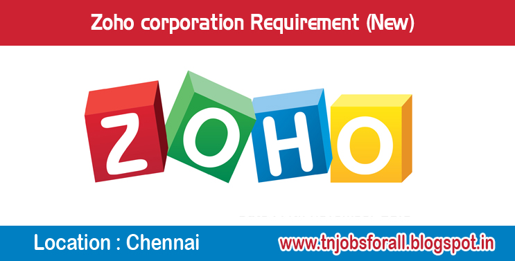 Zoho Corporation Requirement For Content Writers Jobs For All