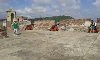 Foto Ofélia Onias - Matéria Castelo de São Felipe de Barajas - BLOG LUGARES DE MEMÓRIA