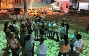 Em greve,  servidores realizam ato na Praça Barão de Maruim
