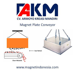 magnet plate conveyor - Magne Industri Indonesia