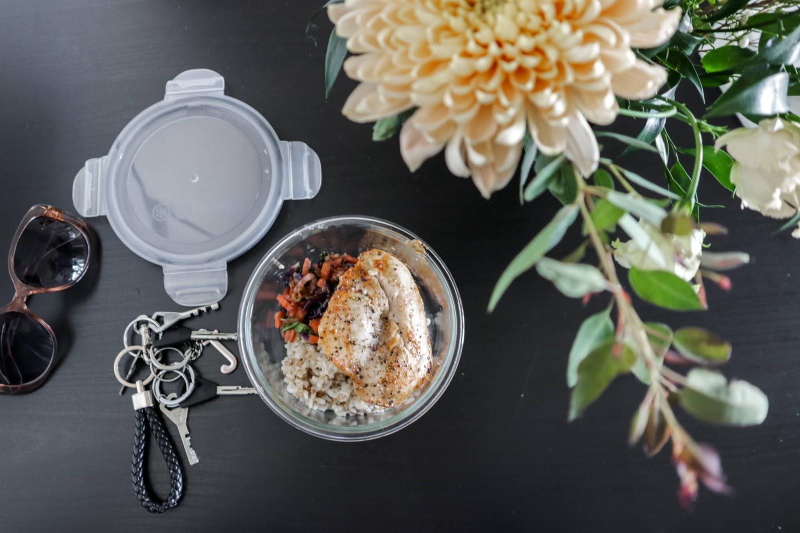 Big mamas home by Jenni S. Meal preppaus ja aasiahenkistä kanaa, sekä kasviksia