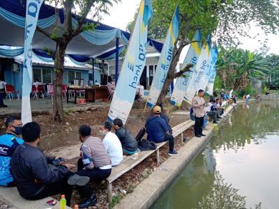 Sambung Silaturahmi, Perumdam Cianjur Adakan Mancing Ikan Bersama