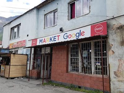 Market Google, en Stepantsminda