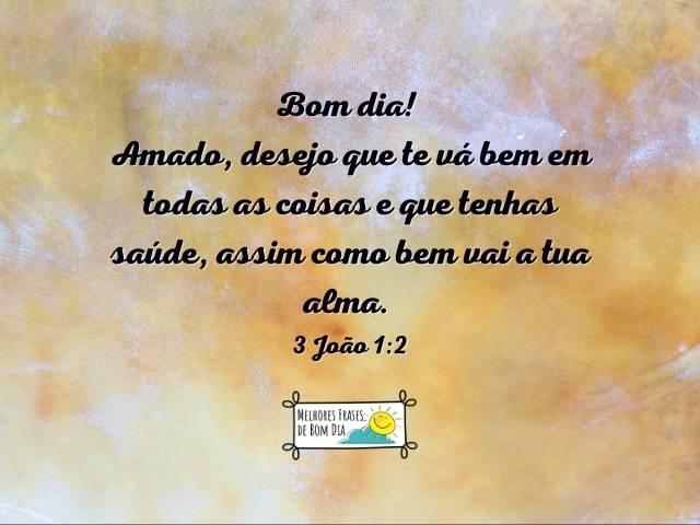 Passagens bíblicas para abençoar o dia
