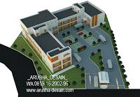 jasa gambar pabrik perspektif