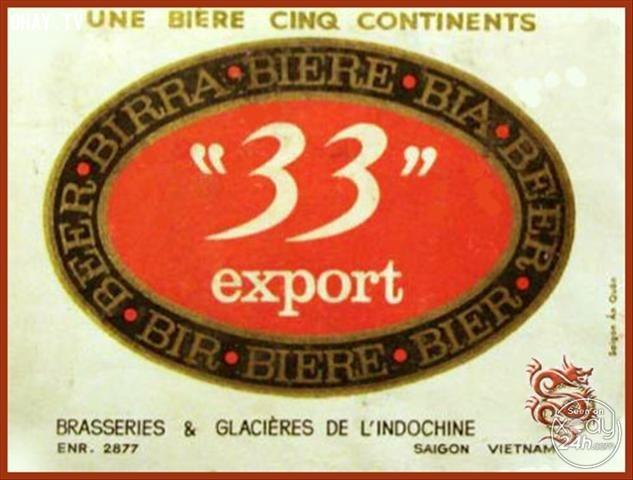 Bia 333, giải mã logo, câu chuyện thương hiệu, tiết lộ bí mật về những con số trên tên của các thương hiệu