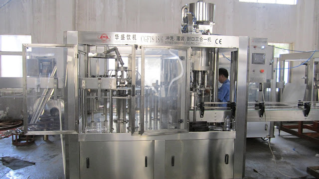 Drinking Water Filling Line