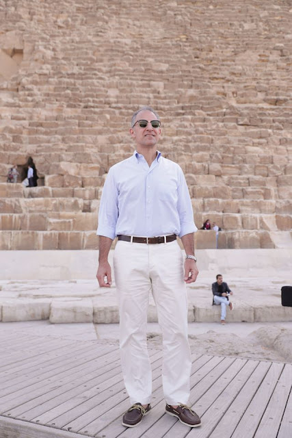 بالصور.. شاهد زيارة الرئيس الأمريكي جوناثان كوهين للقوة والمراقبين متعددي الجنسيات في سيناء