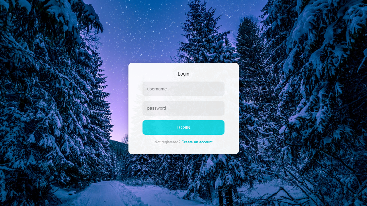 easily create an attractive login page  using html css