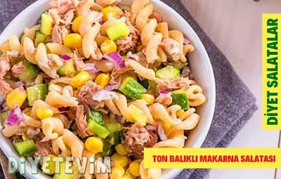 diyet ton balıklı salata