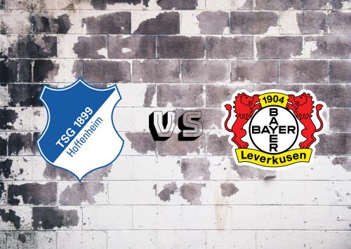 Hoffenheim vs Bayer Leverkusen  Resumen y goles