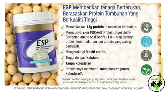 Kebaikan  protein soya untuk remaja kekal sihat dan aktif
