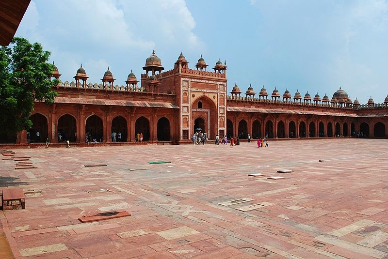 essay on fatehpur sikri One of the im­portant features of mughal architecture is reflected at fatehpur sikri (near agra) where the arch of buland danvaza is about 41 metre high and is perhaps the most imposing gateway in the world.