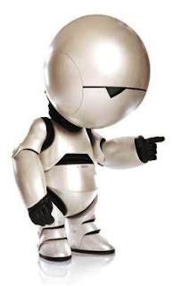 Marvin, el androide paranoide. Radiohead