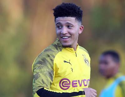 Manchester United Make Breakthrough In Pursuit Of Dortmund's Jadon Sancho
