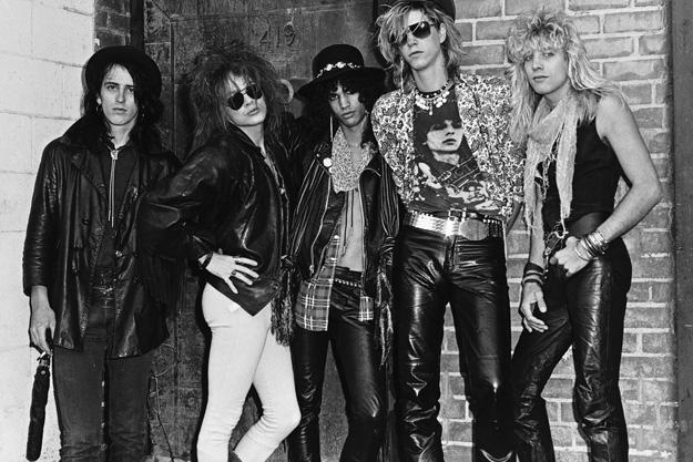 Guns N Roses debut in 1985