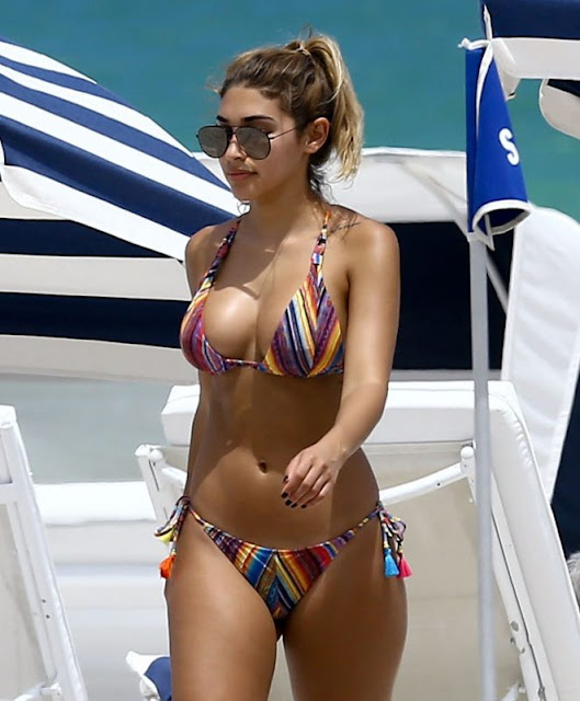 Chantel Jeffries – Bikini Candids in South Beach