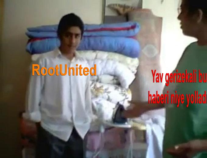 RootUnited Gine Bişiler Deniyor! İnstagramı Hacklemiş!