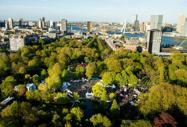 Het Park em Roterdã