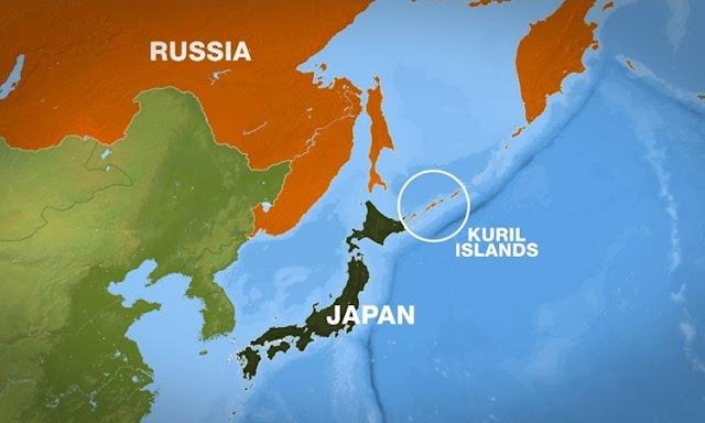Động đất 7,8 độ ở Nga, gần Nhật Bản