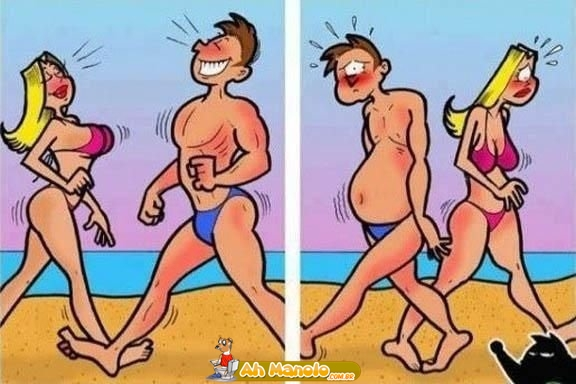 A realidade do que acontece nas praias