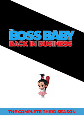 The Boss Baby Back In Business (TV Series) S03 DVD HD Dual Latino + Sub 2DVD