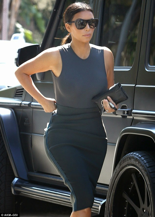 %name Kanye cant stop smiling on stroll with Kim hours after explaining why he doesnt smile